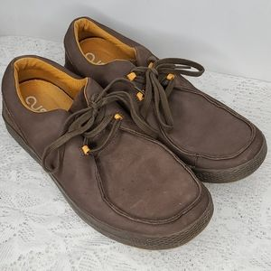 Mens Cushe NAWIA leather casual lace up shoes 12